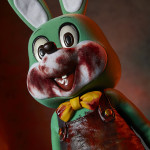 Green Robbie the Rabbit